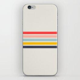 Naomori - Classic Minimal Retro Stripes iPhone Skin