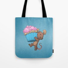 Cupcake Mouse Tote Bag