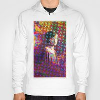 sparkles Hoodies featuring Wave Sparkles by pocketsoup
