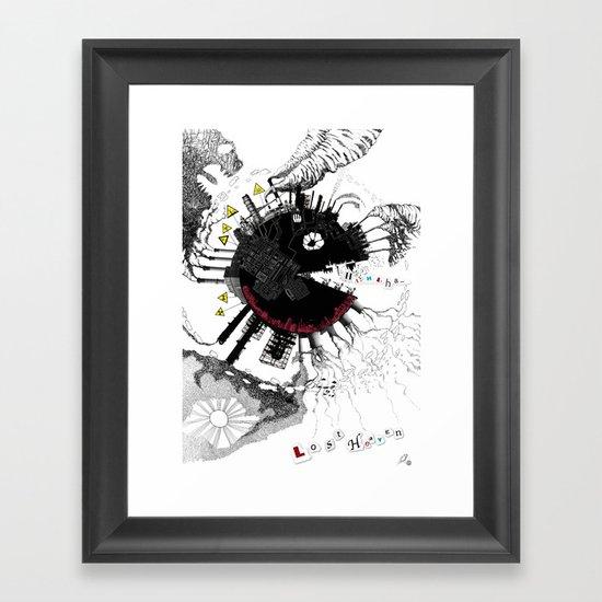 Lost Heaven Framed Art Print