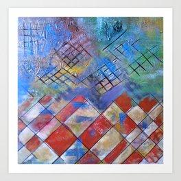 Velocidad y emocion Art Print