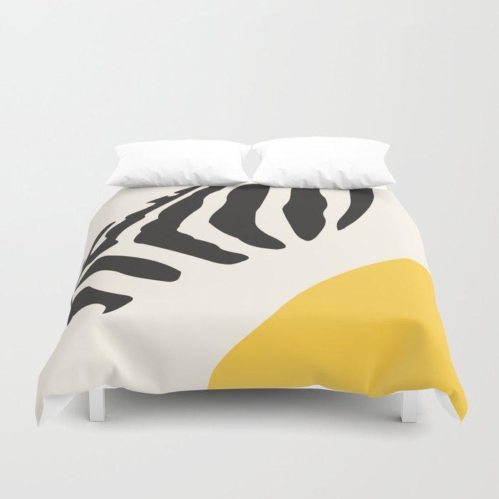Zebra Abstract Duvet Cover