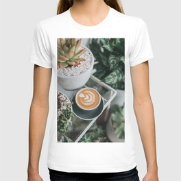 Latte + Plants II T-shirt