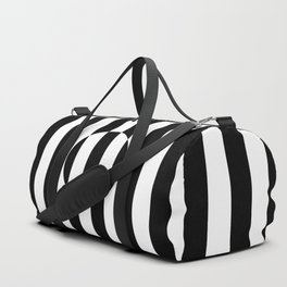 Op Art Striped Circle Duffle Bag