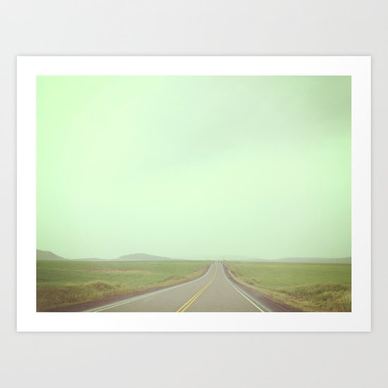 You'll get as far as you let yourself Art Print