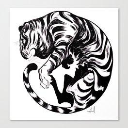 Tiger Day 2014 Canvas Print