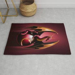 red dragon Rug