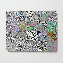 tiles Metal Print