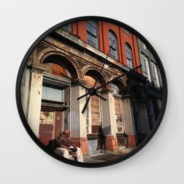 Streets of Philly Wall Clock