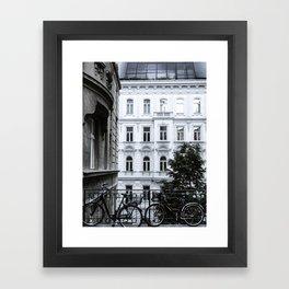Streets of Vienna Framed Art Print