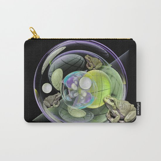 Froggies in a water bubble Carry-All Pouch