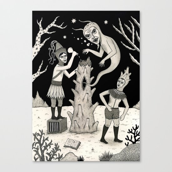 Evicted Canvas Print
