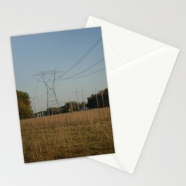 Power Lines Stationery Cards