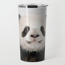 Panda Bear - Colorful Travel Mug