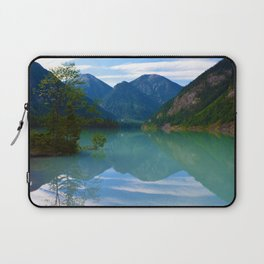 Morning Reflections on Kinney Lake in Mount Robson Provincial Park, British Columbia Laptop Sleeve