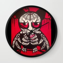 "Bat ""Murcielago""  Wall Clock"
