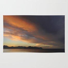 Sicilian sunset Rug