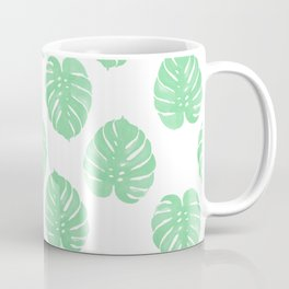 Palm Leaf indoor house plant hipster cheese plant palm leaf tropical vibes Coffee Mug