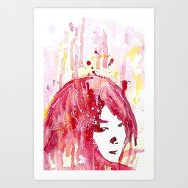 My, Me Art Print