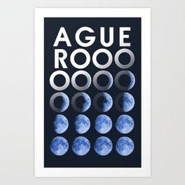 aguero Art Print