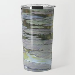 Water Lilies Afloat Travel Mug