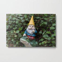 Adventure gnome Metal Print