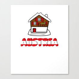 Austria Alps Mountains Vacation Canvas Print