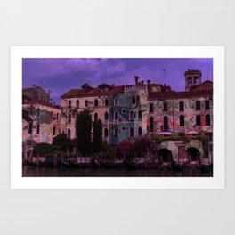 Psychedelic Botanicals in Venice Art Print