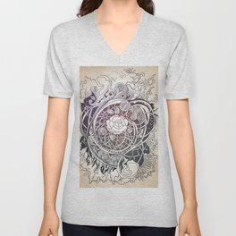 In the middle Unisex V-Neck