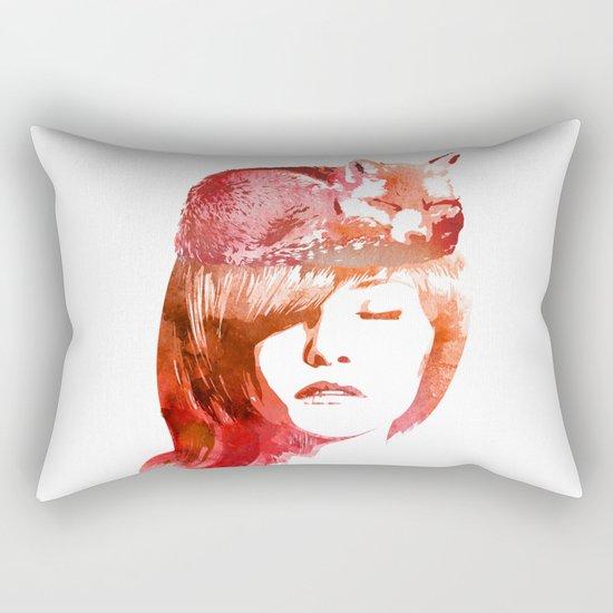 Perfect Silence Rectangular Pillow