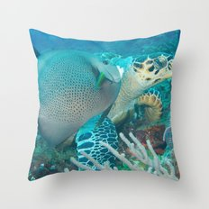 marines Throw Pillow