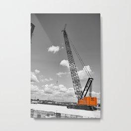 Heavy Lifting Metal Print