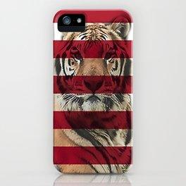 Malaysian Flag and Malayan Tiger iPhone Case