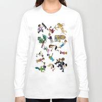 cartoons Long Sleeve T-shirts featuring 2014 Cartoons 1 by Reid