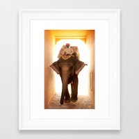 india Framed Art Prints featuring India by Esther Havens