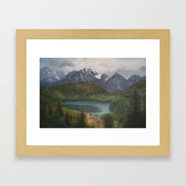 From the Castle Window Framed Art Print