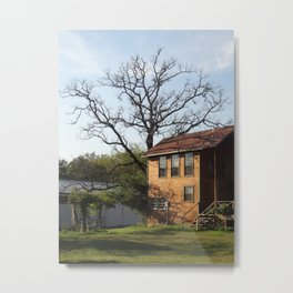 A Country Home Metal Print