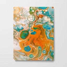 Pele Flow Metal Print