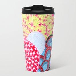 Flower  abstract 1 Travel Mug