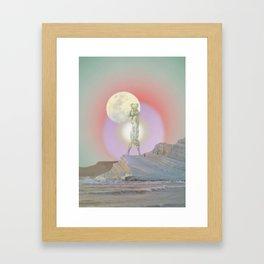 sky walker Framed Art Print