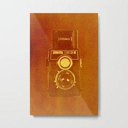 Lubitel Camera Metal Print