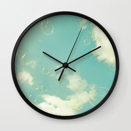 there was a bright light Wall Clock
