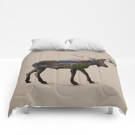 The Alaskan Bull Moose Comforters