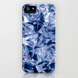 Ice background iPhone Case