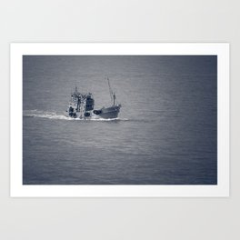 Fishing Vessel Art Print