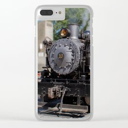 Granite Rock 10 Clear iPhone Case