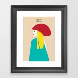 I Love The French Framed Art Print