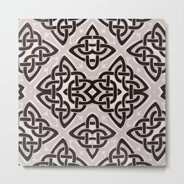 Kaleidoscope Celtic Knot Pattern Print Metal Print
