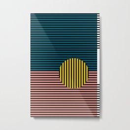 Multi lines Metal Print