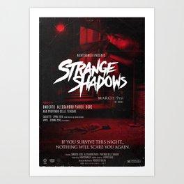 Strange Shadows Official Poster Art Print